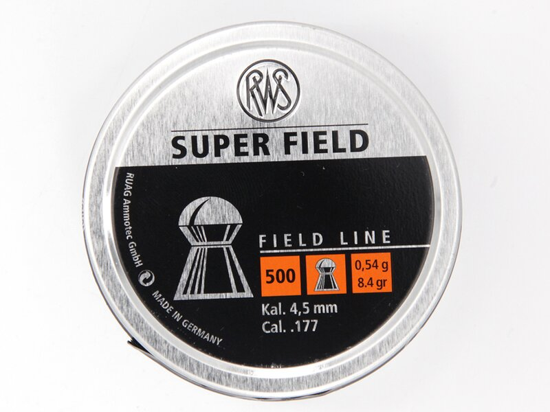 RWS SUPER FIELD 4,5 mm 500 pellets