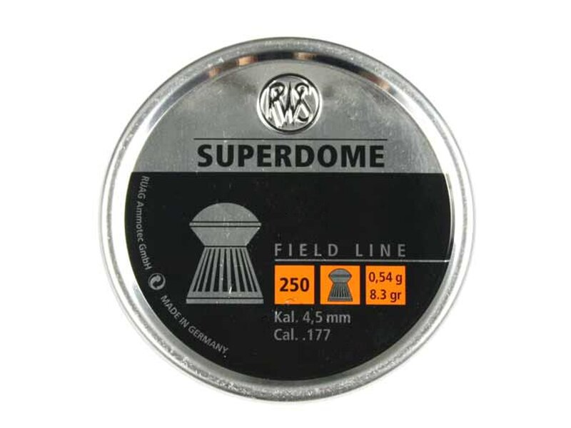 RWS SUPERDOME 4,5 mm 500 pellets