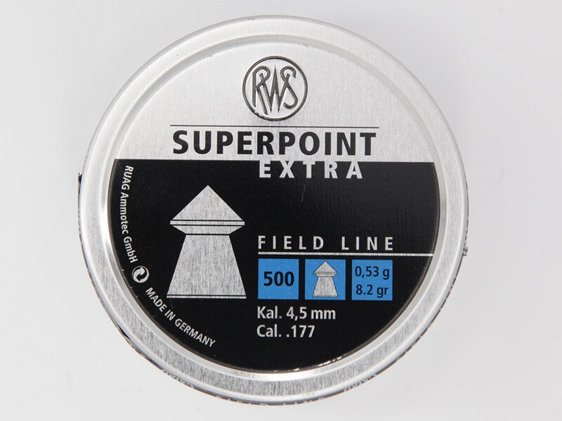 RWS SUPERPOINT EXTRA 4,5 mm 500 pellets