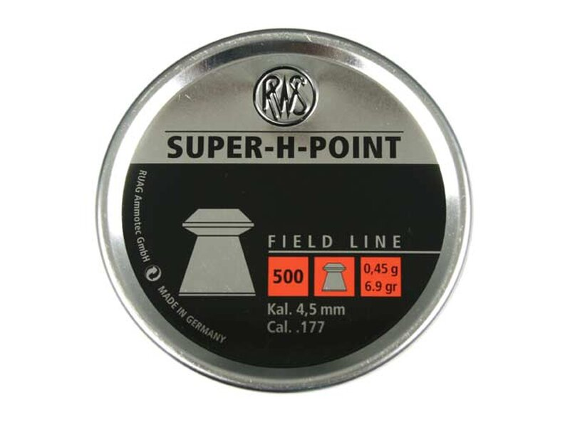RWS SUPER-H-POINT EXTRA 4,5 mm 500 pellets