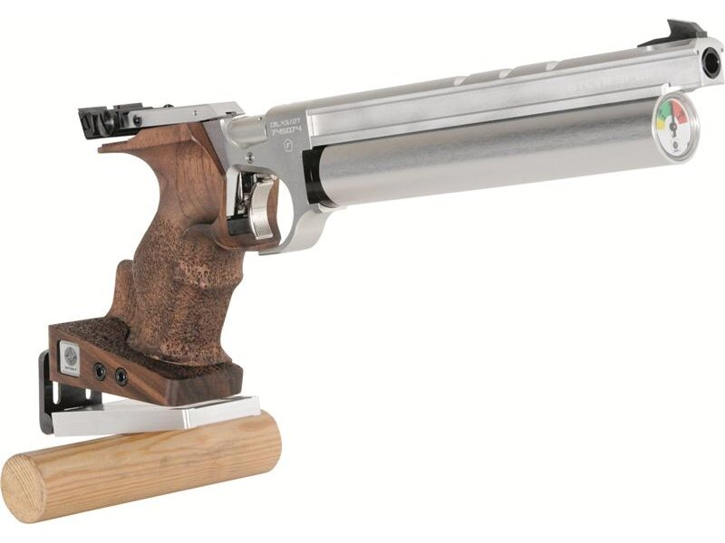Steyr rest for air pistol bench rest shooting