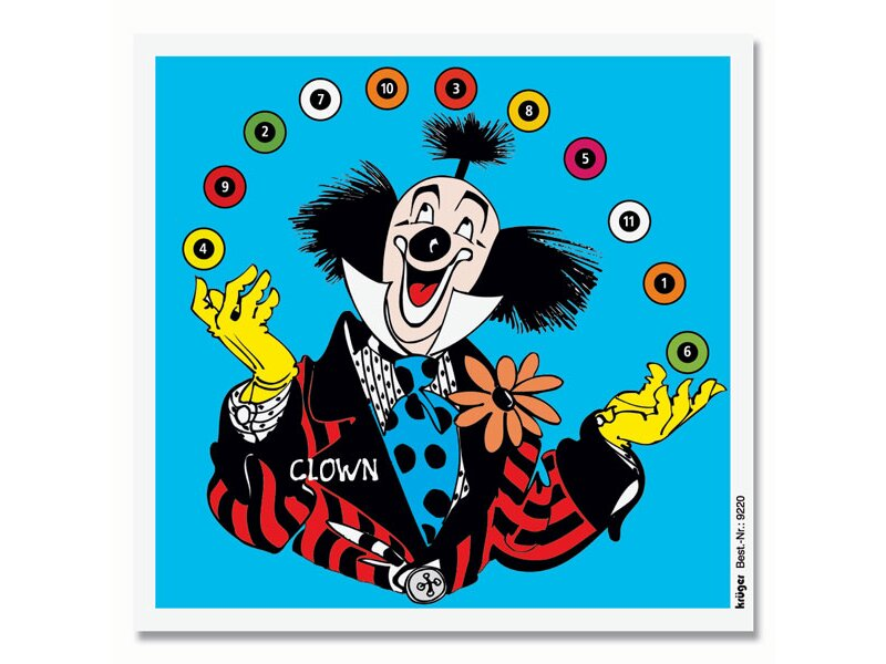 Krüger Fun targets Clown, 100 pc.