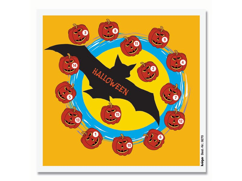 Krüger Fun targets Halloween, 100 pc.