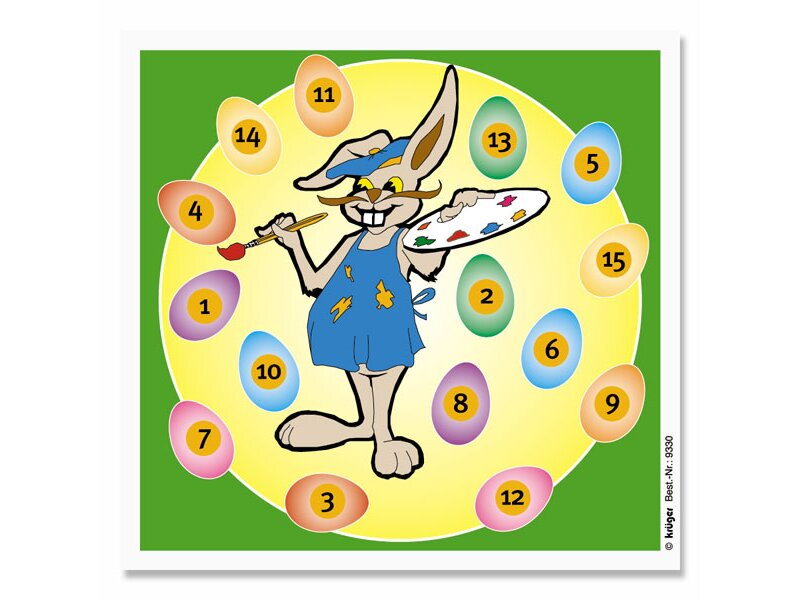 Krüger Fun targets Easter Bunny, 100 pc.