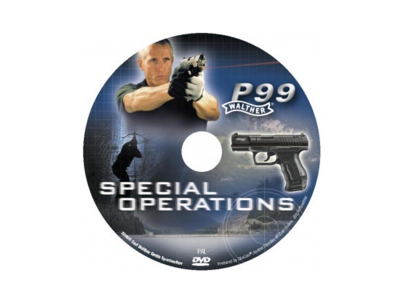 Walther P99 DVD Special Operations, englisch