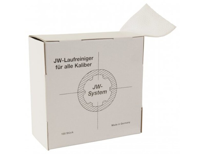 Anschütz JW barrel cleaner in dispenser box