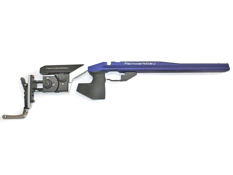Feinwerkbau alu stock blue Mod. 2700 (without hand support)