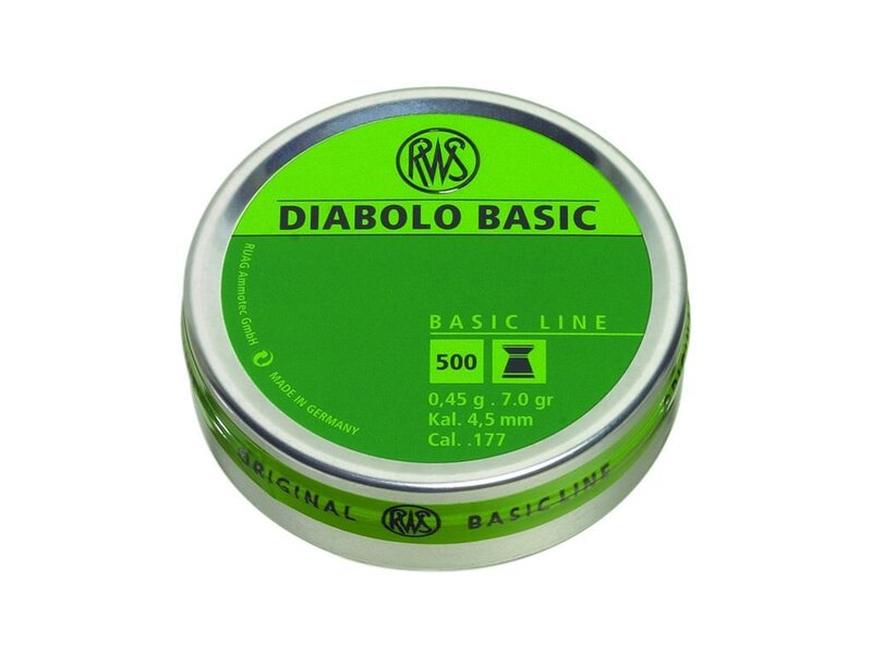 RWS DIABOLO BASIC LINE 4,5 mm