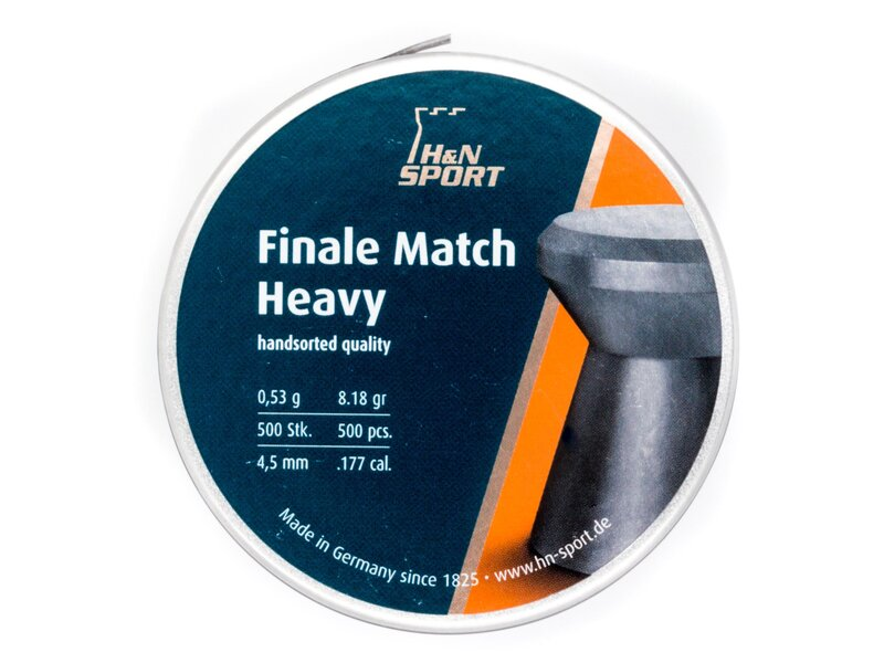 H&N Finale Match Air Rifle pellets, 500 pellets 0,53g