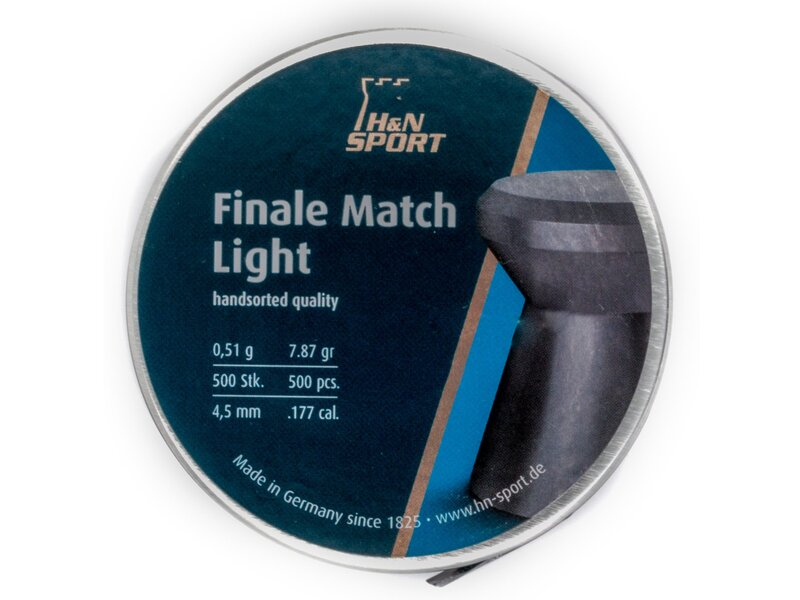 H&N Finale Match Air Pistol pellets, Light, 500 pellets...