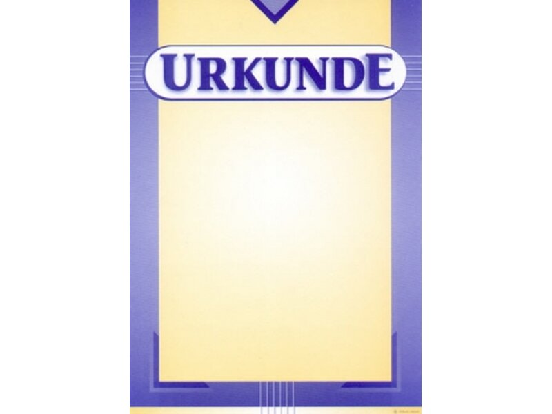Urkunde neutral