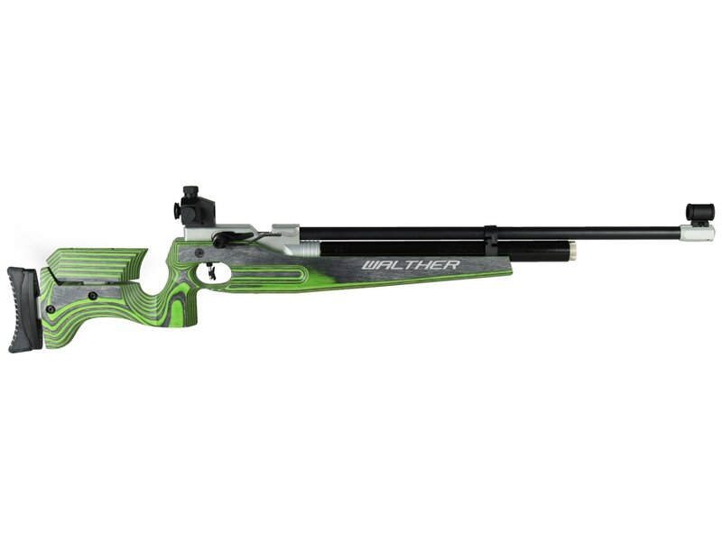 Walther LG400 Junior Universal right/left, Green Hornet