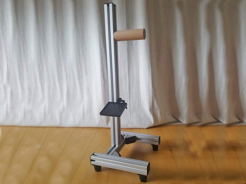 Konrad tripod for bench rest shooting with adjustable feet