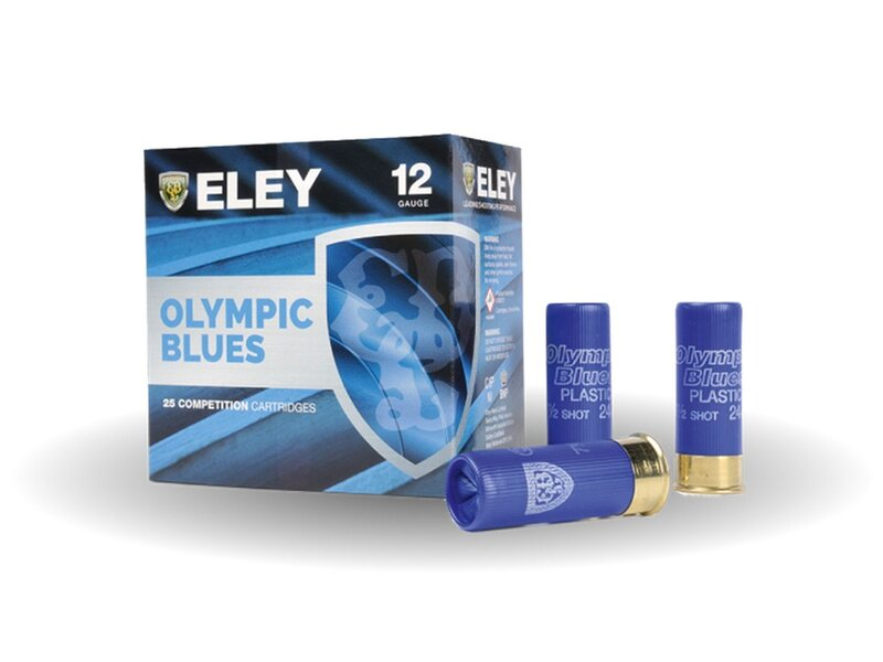 ELEY Olympic Blues Trap 24G 12/70  #7,5 - 25 Schuss