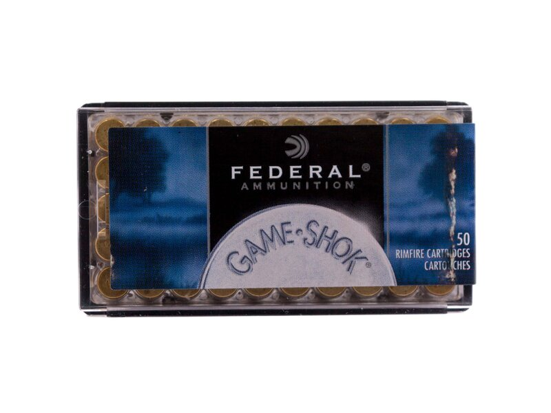 Federal .22WinMag. JHP Game-Shok 50grs.50St