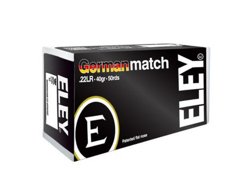 Eley German Match 50 Schuß
