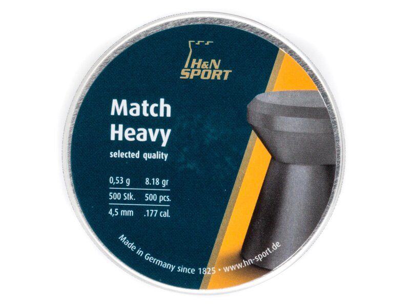 H&N Match Heavy pellets 0,53g