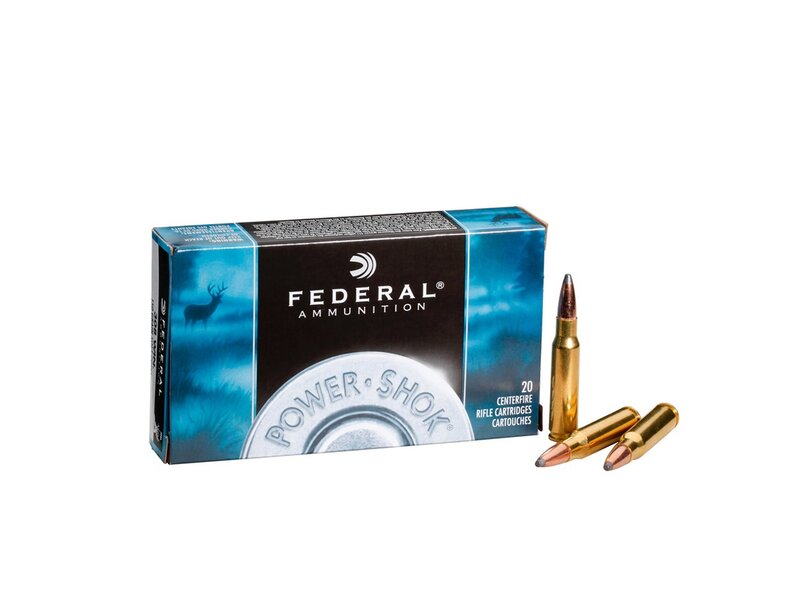 Federal .308Win. TM Power-Shok 180grs. 20St