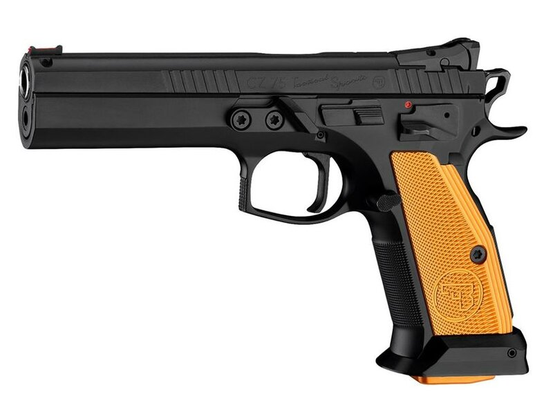 CZ 75 Tactical Sports orange - 9mmLuger