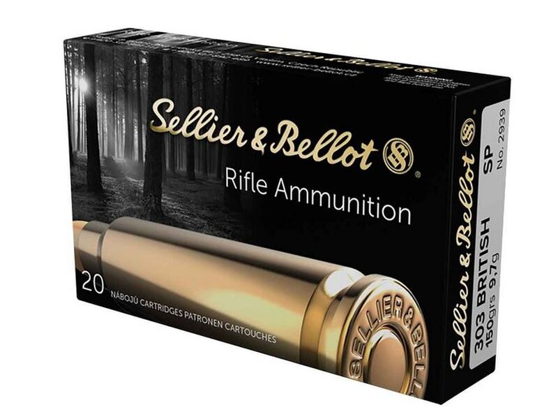 Sellier & Bellot, .303 Brit. SP 150 grs.  20St