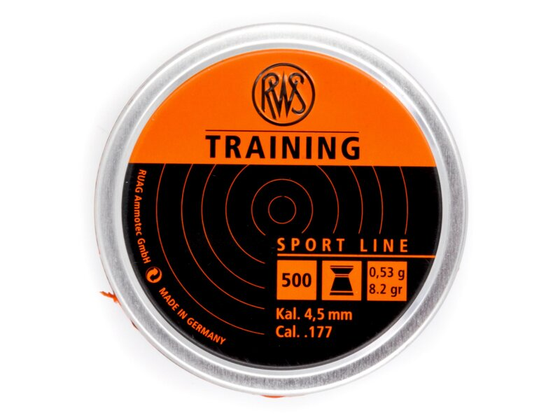 RWS Training 4,5 mm 500 pellets