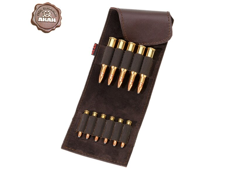 AKAH Cartridge Poach Buffalo-Leather
