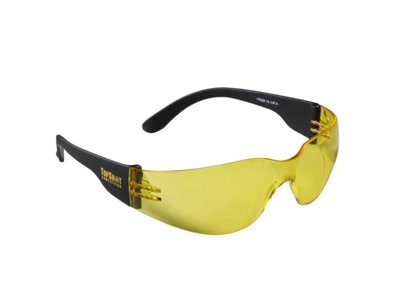 Safety goggles, TopShot, yellow