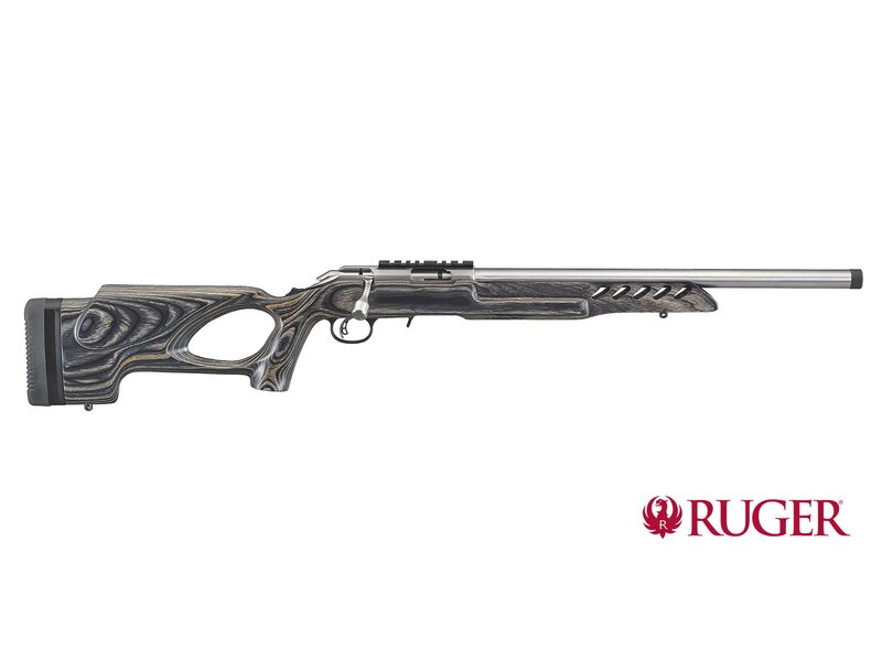 RUGER Rimfire Target Thumbhole Stainless .22lr