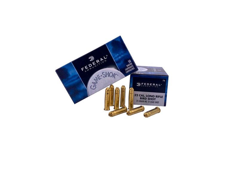 Federal 716 Small Game 25grs. .22lr HV